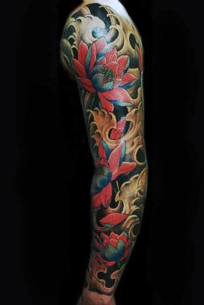 Asian Flower Tatoo : asian, flower, tatoo, Japanese, Flower, Tattoo, Ideas, [2021, Inspiration, Guide]