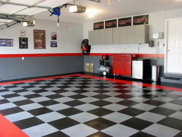 50 Garage Paint Ideas For Men  Masculine Wall Colors And