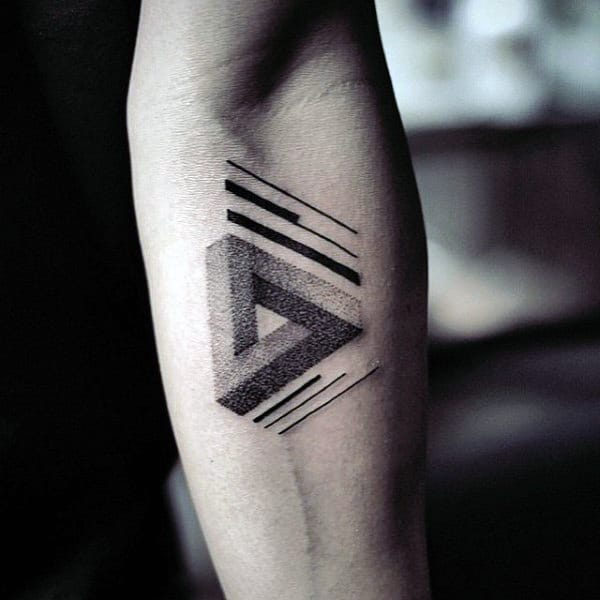 Flower Inside Triangle Tattoo Meaning