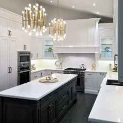 Kitchen Island Lighting Painting Cabinets Black Top 50 Best Ideas Interior Light Fixtures Cool Modern Gold