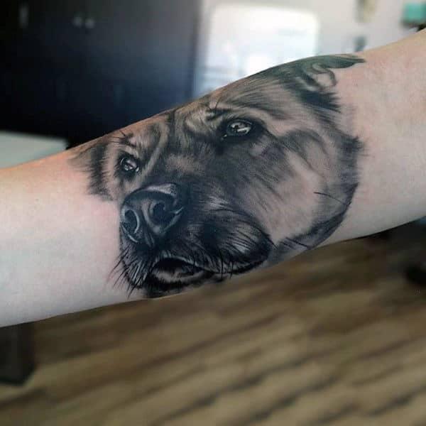 100 Dog Tattoos For Men Creative Canine Ink Design Ideas