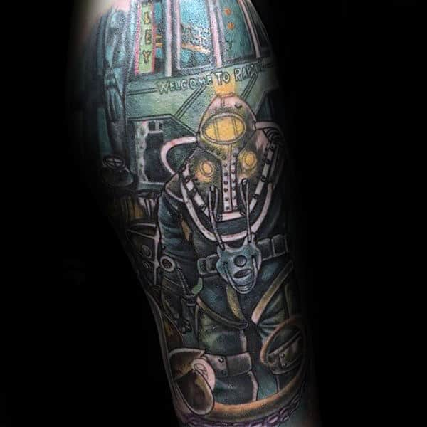 Video Game Tattoos For Men