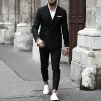 How To Wear A Suit Without A Tie - 50 Fashion Styles For Men
