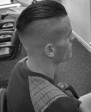 slicked undercut haircuts