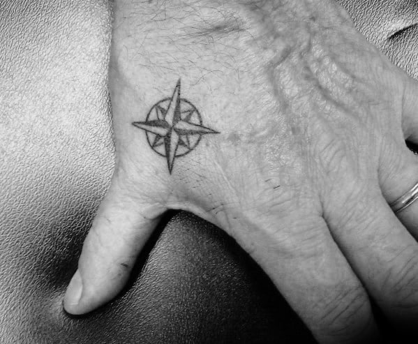 Simple Hand Tattoos Pictures