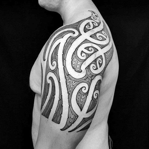 Cool Tribal Shoulder Tattoos  Wwwpixsharkcom Images