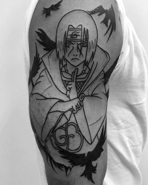 Naruto Tattoo Design : naruto, tattoo, design, Naruto, Tattoo, Designs, Ideas, [2021, Inspiration, Guide]