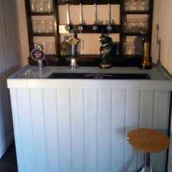 Small Kitchen Bar Coloured Appliances 50 Pub Shed Ideas For Men - Cool Backyard Retreat Designs