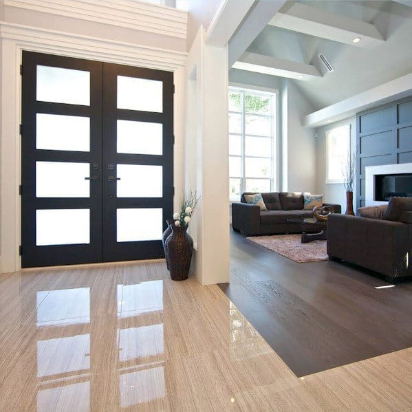 mixed flooring designs