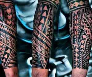 forearm tribal tattoos tattoo designs arm unterarm cool indian guys sleeve american mens nextluxury ink incl manly outsons chest traditional