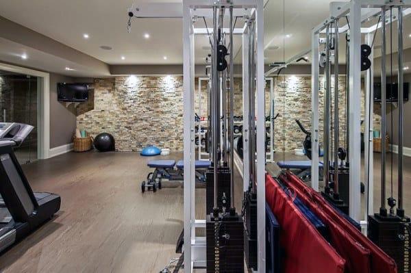 Ideen Heim Fitnessstudio Einrichten