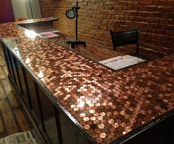 Top 60 Best Bar Top Ideas  Unique Countertop Designs