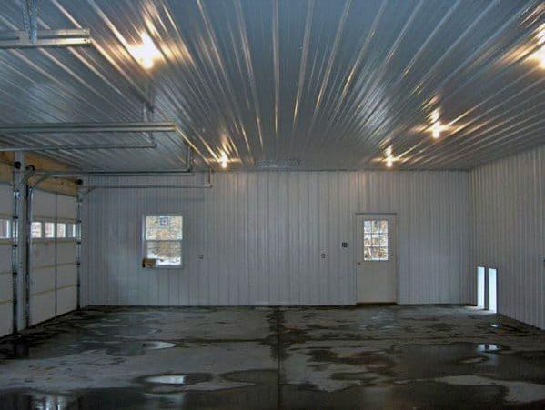 Top 40 Best Garage Ceiling Ideas Automotive Space Interior Designs