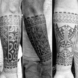 forearm tribal tattoo tattoos male american designs mens ink arm sleeve traditional manly flag creative maori indian density fortunately maintaining