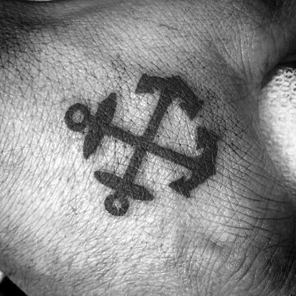 Left Hand Tattoo Design For Men Tattoos Ideas