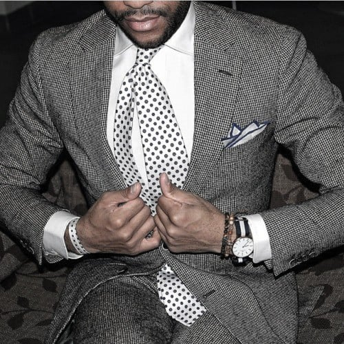 Dapper Mens Grey Suit Styles