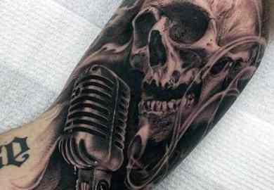 Musical Tattoo Ideas