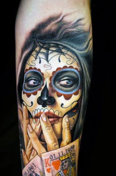 70 day of dead tattoos