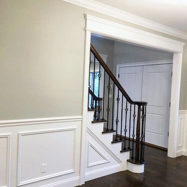 picture frame moulding below chair rail ace hardware adirondack chairs top 70 best ideas molding trim interior designs dining room and stairs home