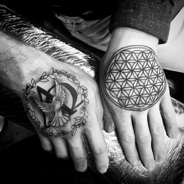 30 Alpha Omega Tattoo Designs For Men Greek Grandeur