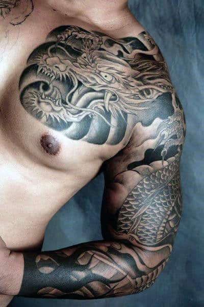 Dragon Tattoos Mythical