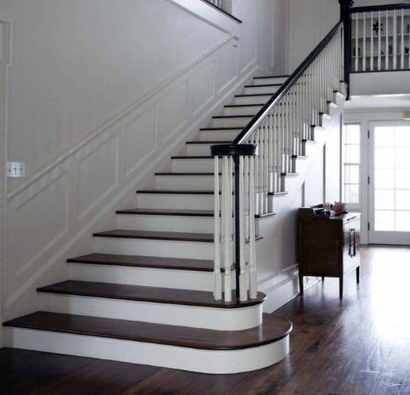 Top 70 Best Stair Railing Ideas Indoor Staircase Designs | Wooden Handrails For Stairs Interior | Design | Brown | Simple | Wall Mounted | Indoor