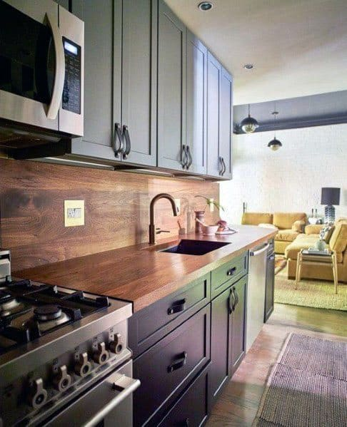 backsplash in kitchen cool tables top 60 best wood ideas wooden wall designs excellent