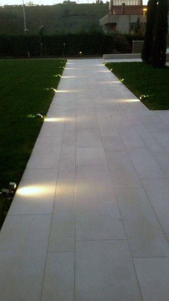 top 70 best landscape lighting ideas