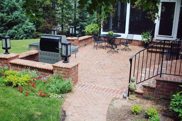 brick patio ideas henkkon