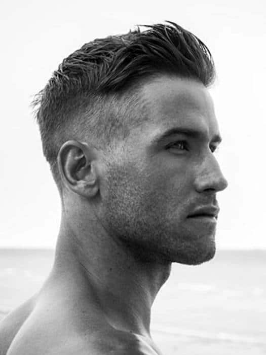 50 Men's Short Haircuts For Thick Hair Masculine Hairstyles