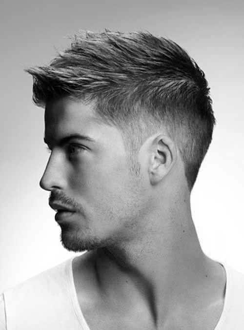 White Men Haircuts : white, haircuts, Haircuts, Stylish, Middle