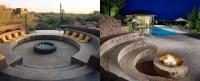 Top 60 Best Fire Pit Ideas - Heated Backyard Retreat Designs