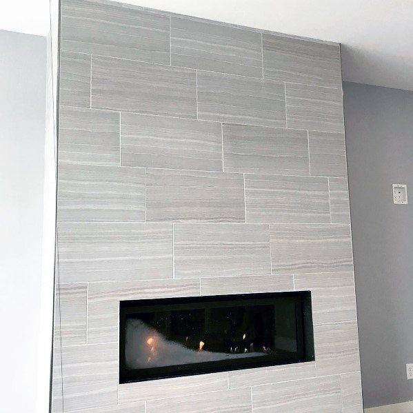 top 60 best fireplace tile ideas