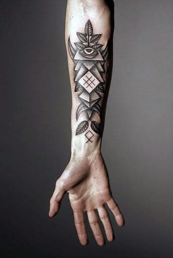 Mens Wrist Tattoos