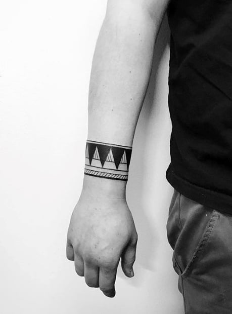 Minimalist Wrist Tattoos For Guys