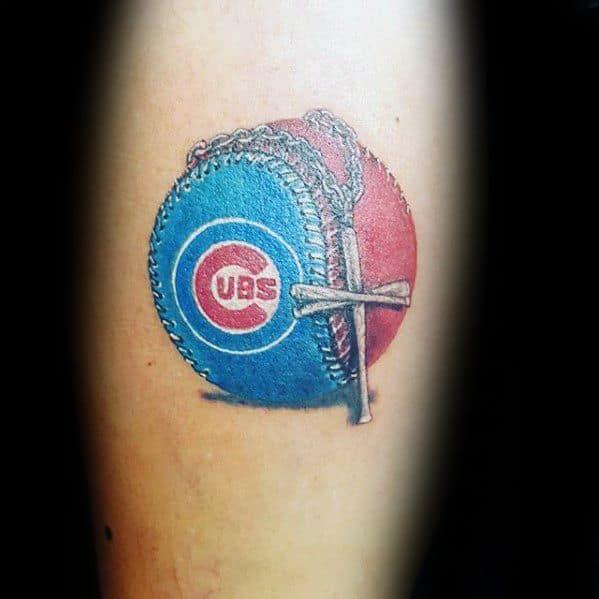 chicago cubs tattoo design