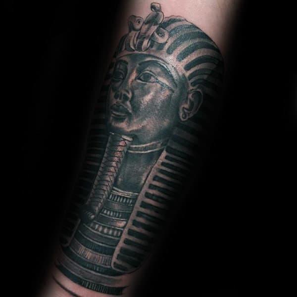 king tut tattoo design