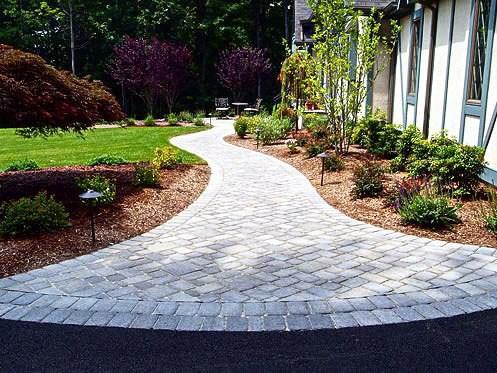top 50 best paver walkway ideas