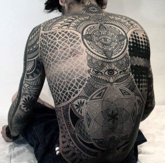 top 100 sacred geometry tattoo