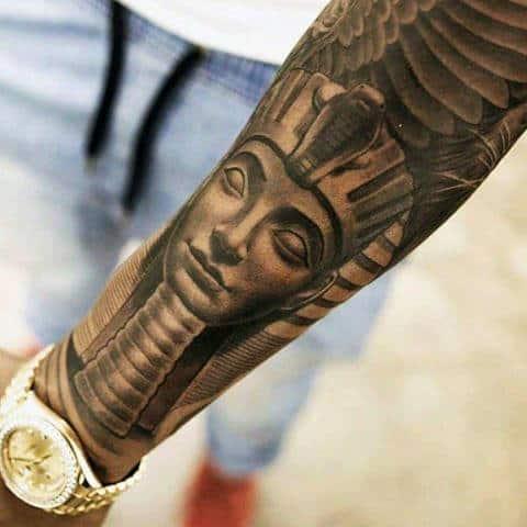 egyptian tattoos men - ancient