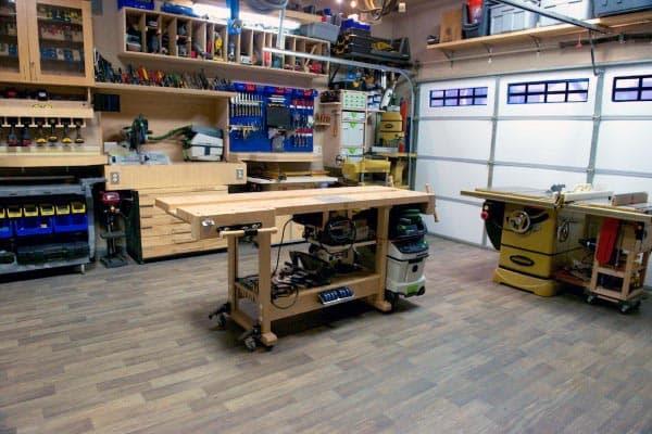 Layout Home Woodshop Plans