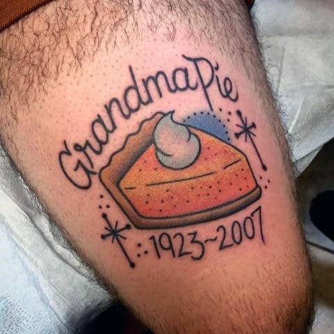 Memorial Rip Grandma Tattoo