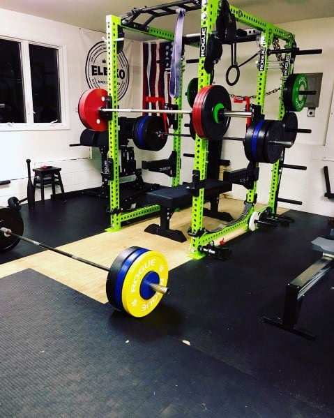 Garage Home Gyms for Men