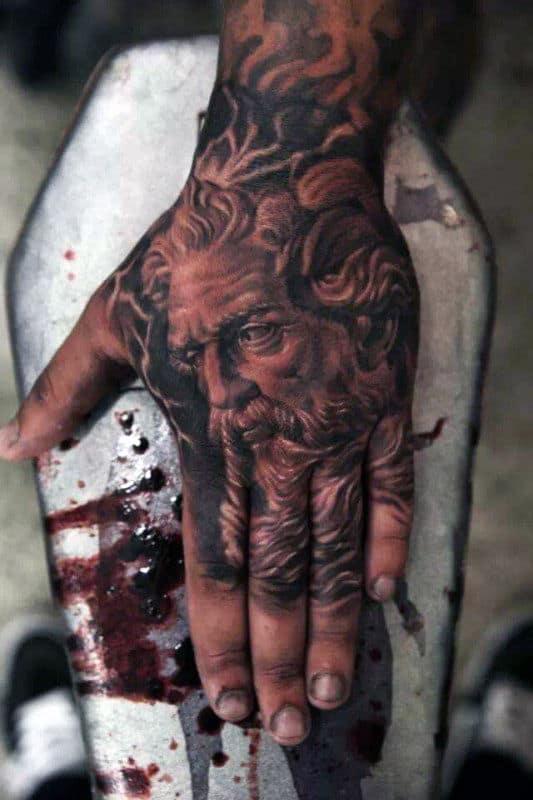 Greek Gods Tattoo : greek, tattoo, Greek, Mythology, Tattoo, Ideas, [2021, Inspiration, Guide]