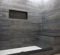 Top 50 Best Shower Bench Ideas - Relaxing Bathroom Seat ...