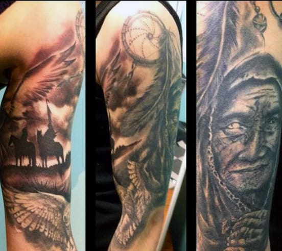 Cherokee Indian Tattoo Ideas
