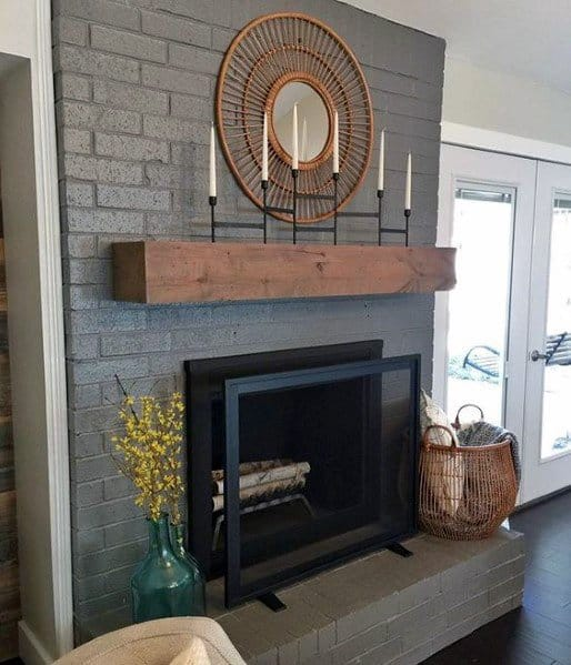 Top 50 Best Painted Fireplace Ideas Interior Designs