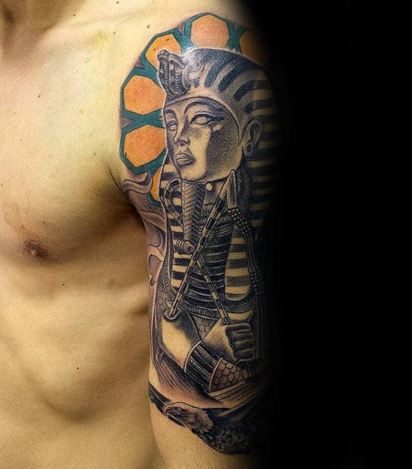 20 King Sleeve Tattoos For Men Ideas And Designs