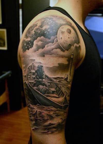 cloud tattoos men - divine