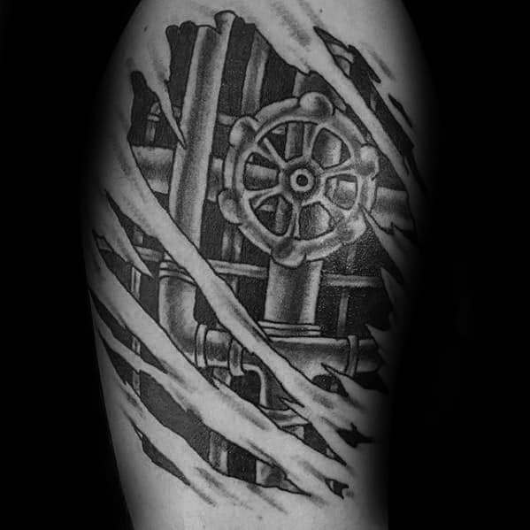 30 Plumbing Tattoos For Men Plumber Design Ideas